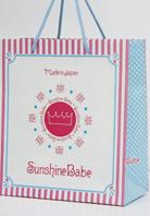美容機器メーカー 紙袋 デザイン制作