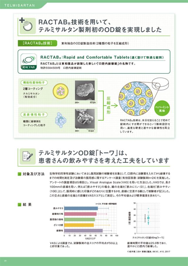 製薬メーカー 商品カタログ デザイン制作