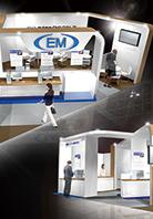 医療業界システム会社 展示会 企画、ブース設営、デザイン設計