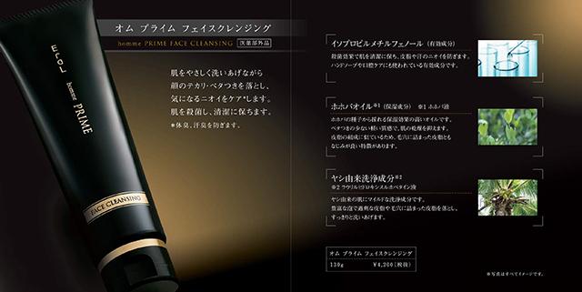 美容溶剤メーカー リーフレット デザイン制作