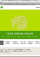 不動産賃貸サービス会社 WEBサイト デザイン制作、コーディング